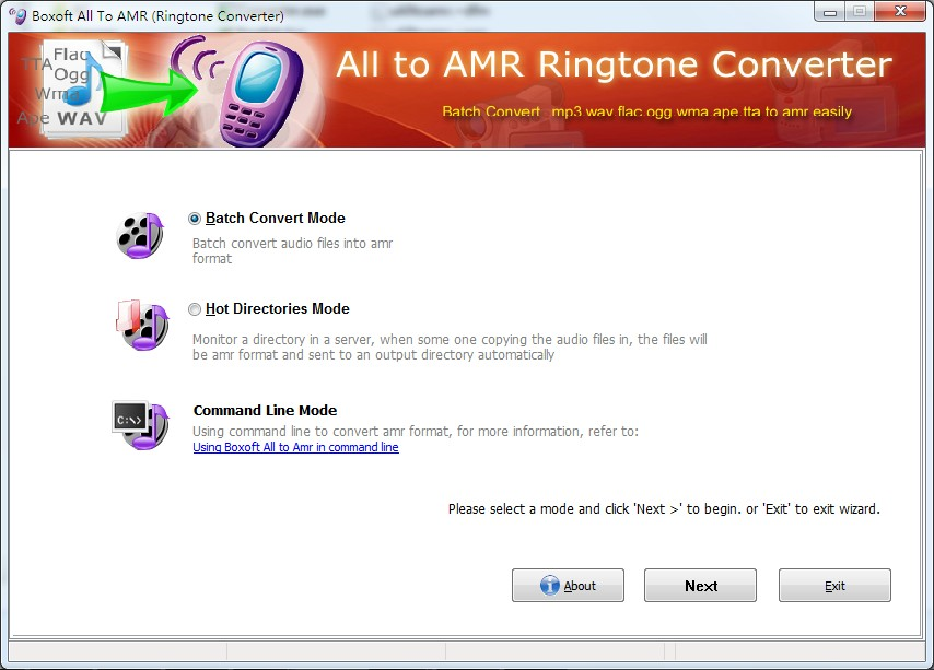 Boxoft All to Amr Converter 1.5 full
