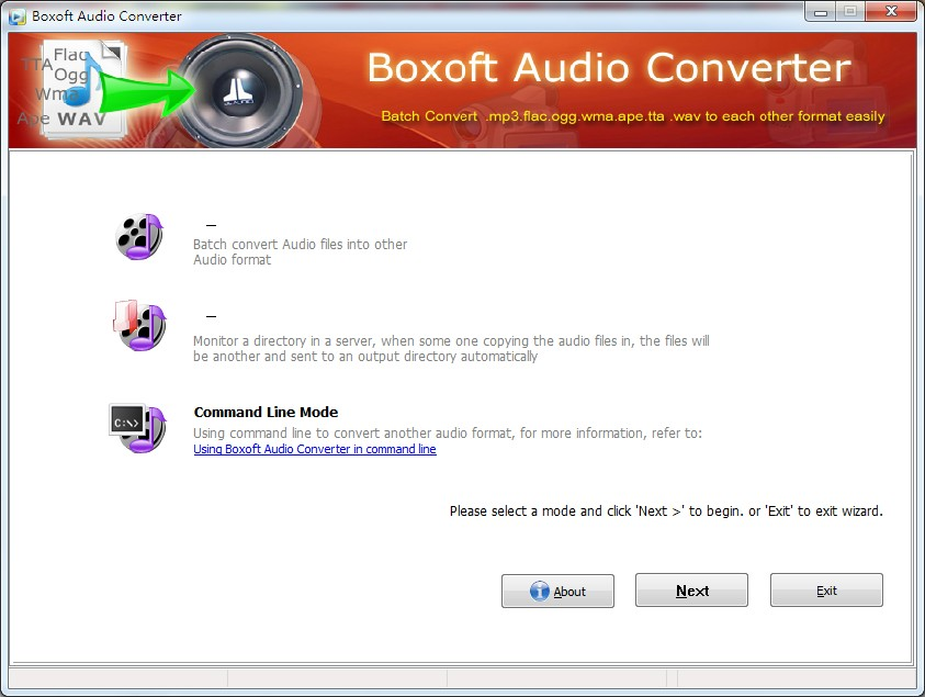 Audio Converter - Convert wav,wma to MP3
