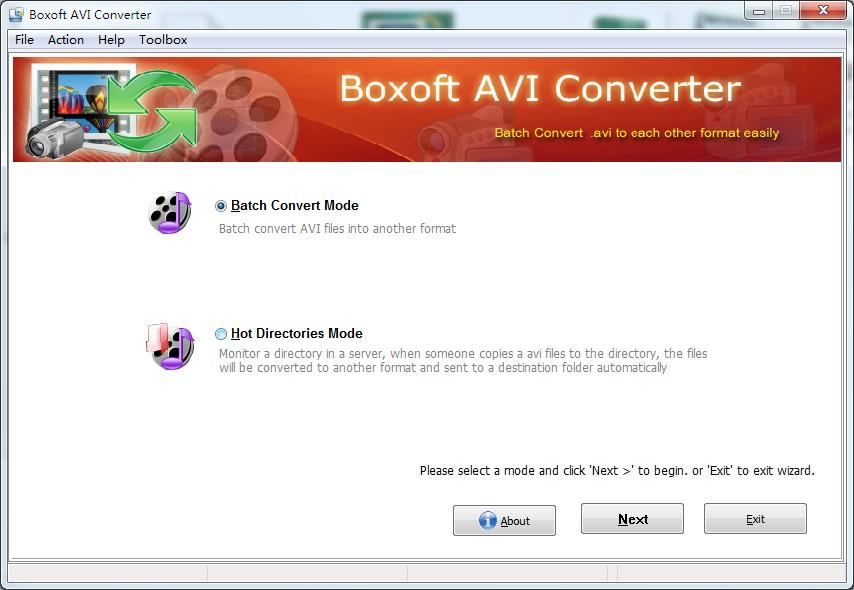 Windows 7 Boxoft AVI Converter 1.6 full