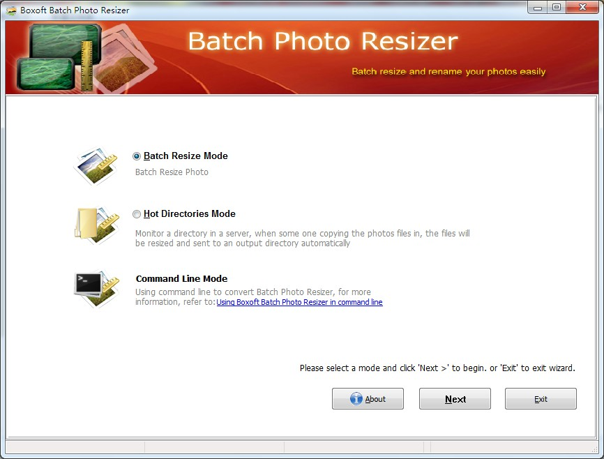 Boxoft Batch Photo Resizer 1.5 full