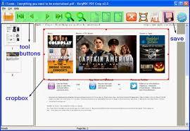 PDF Margin Trimmer screenshot