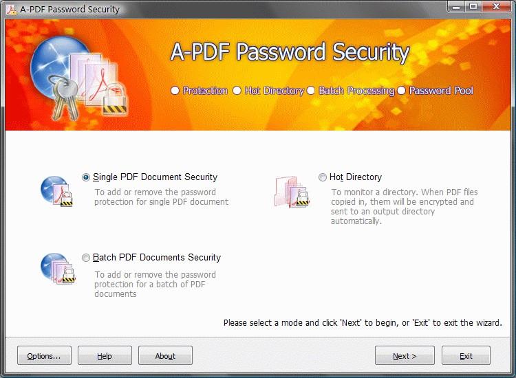 PDF Password Protect 3.4.0 full