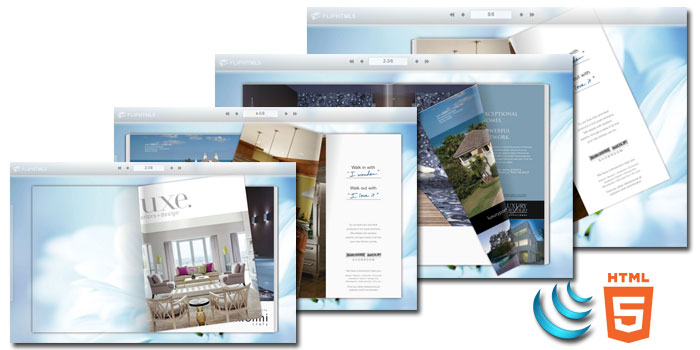 Free Html5 Digital magazine software screenshot