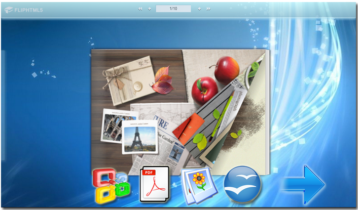 Windows 7 HTML5 Animation Flipping Book Publisher 3.2 full