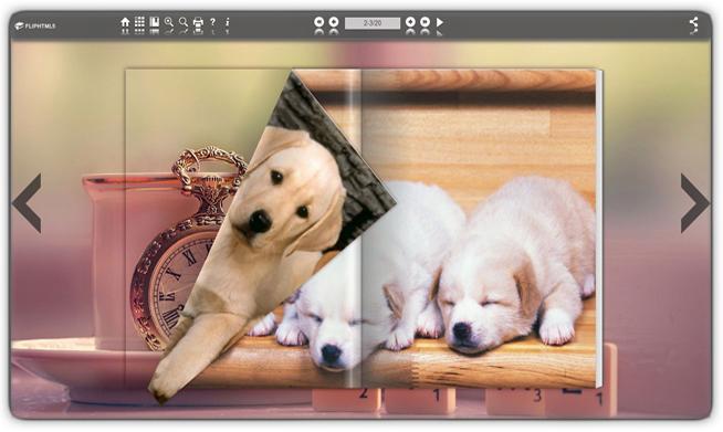 Free Html5 marketing magazine maker screenshot