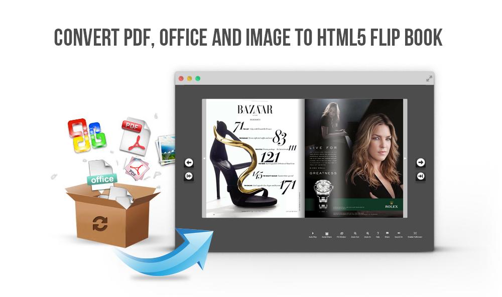 Windows 7 Free HTML5 Flipping Book Software 3.4 full
