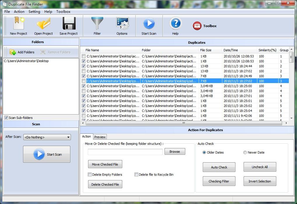Boxoft Duplicate File Finder 1.1