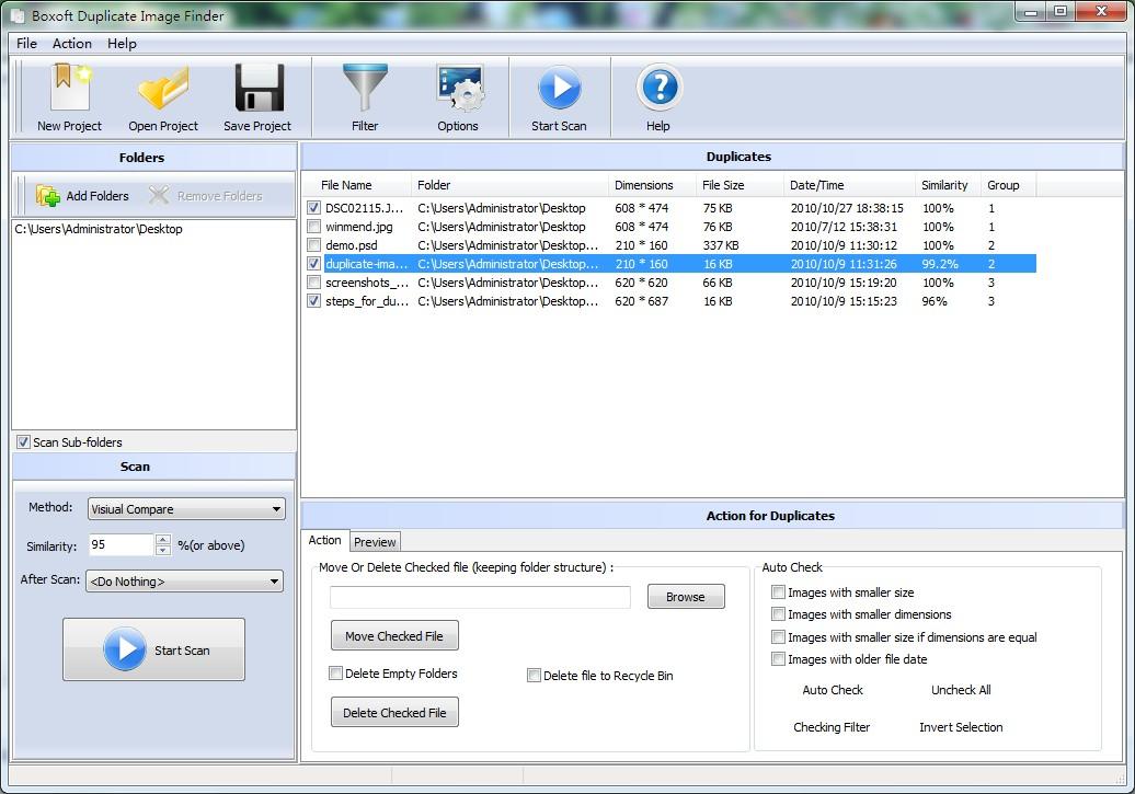 Boxoft Duplicate Image Finder 1.4