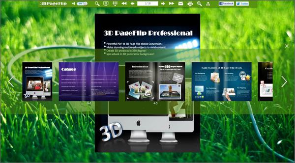 Boxoft Free Flip Book Maker screenshot