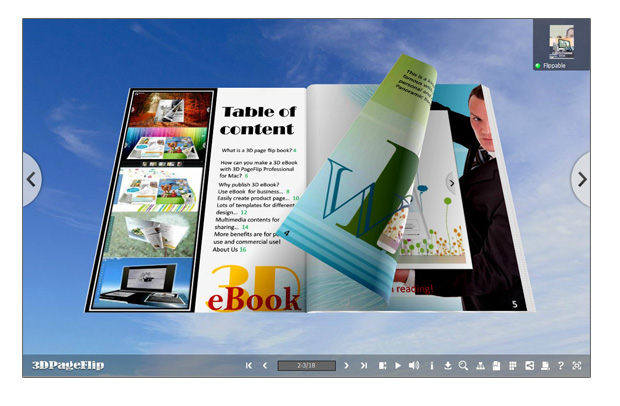 how to make a digital flipbook with photos