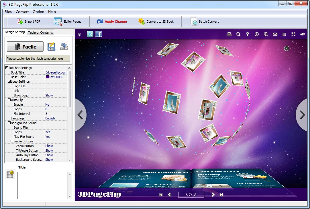 Boxoft free flip page maker 100 innovative freeware for for 3d design software free online