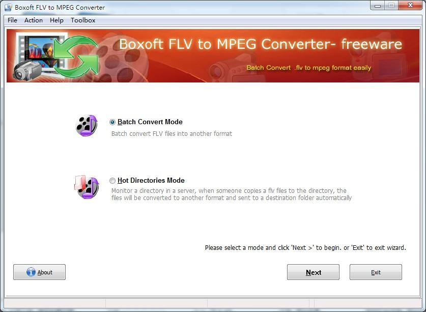 Boxoft free FLV to MPEG Converter (freeware) 1.0