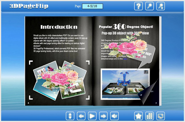 Utilize flip book builder to insert animation images in