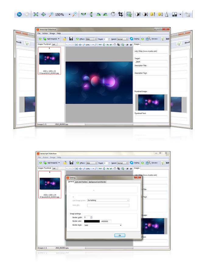 Javascript+slideshow