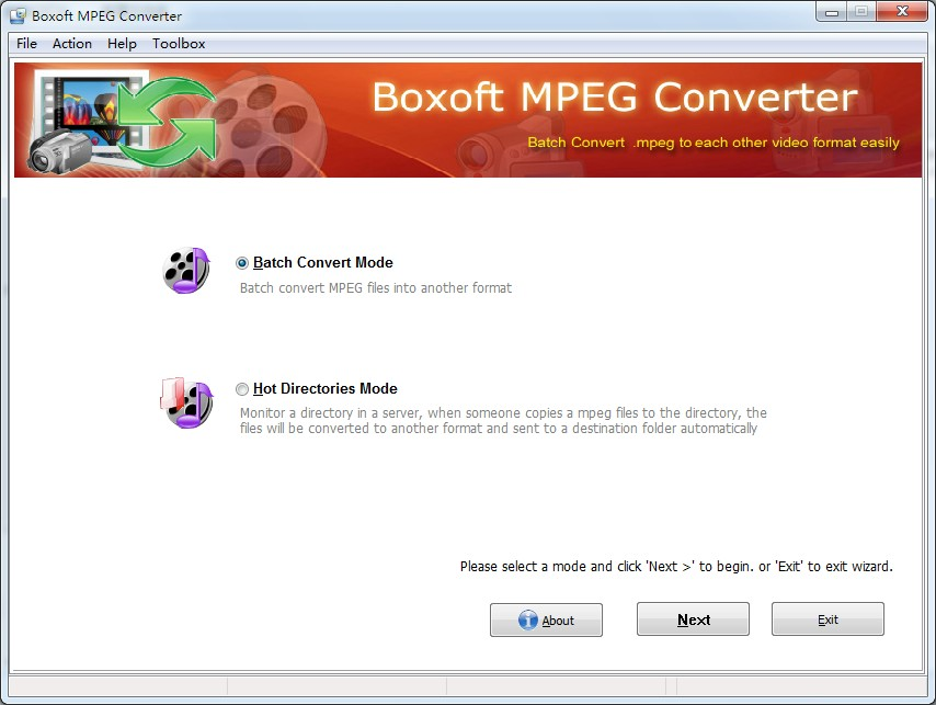 Windows 7 Boxoft MPEG Converter 1.4 full