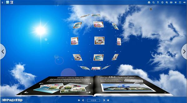 Boxoft Free Page Flip Maker screenshot