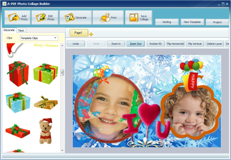 Boxoft Photo Collage Builder 1.8 full