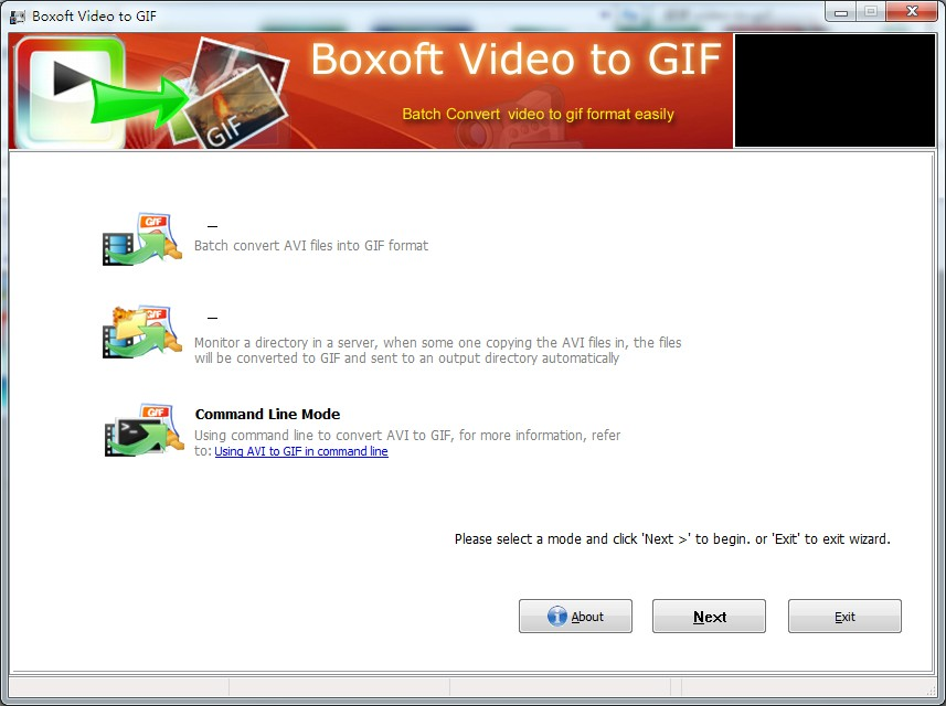 Boxoft Video To GIF 1.4 full